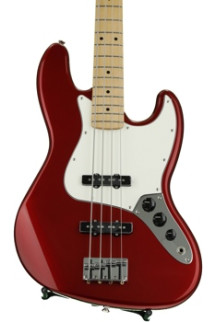 Fender Standard Jazz Bass - Candy Apple Red with Maple Fingerboard