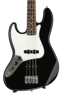 Fender Standard Jazz Bass Left-Hand - Black with Rosewood Fingerboard