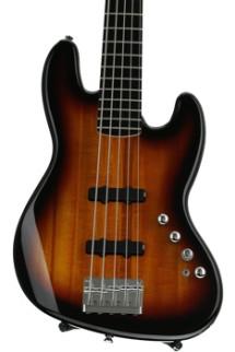 Squier Deluxe Jazz Bass V Active - 3-Color Sunburst