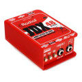 Radial JDX 48 1-channel Active Instrument Direct BoxJDX 48 1-channel Active Instrument Direct Box