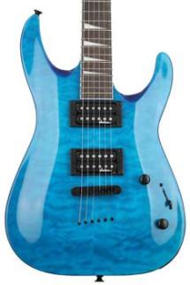 Jackson JS32TQ Dinky - Transparent Blue