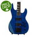 Jackson JS3 Concert Bass - Transparent BlueJS3 Concert Bass - Transparent Blue