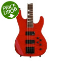 Jackson JS3 Concert Bass - Transparent RedJS3 Concert Bass - Transparent Red