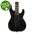 Jackson JS3V Concert Bass - Transparent BlackJS3V Concert Bass - Transparent Black