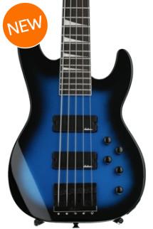 Jackson JS3V Concert Bass - Metallic Blue Burst