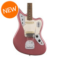 Fender Custom Shop 1963 Journeyman Relic Jaguar - Aged Burgundy Mist