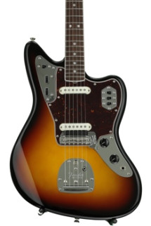 Fender American Vintage '65 Jaguar - 3-color Sunburst with Rosewood Fingerboard