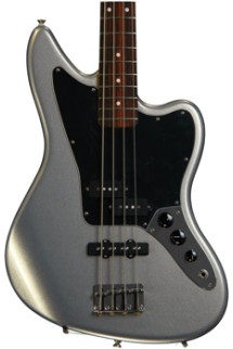 Fender Standard Jaguar Bass - Ghost Silver