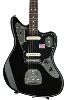 Fender Johnny Marr Jaguar - Black, Rosewood fingerboard