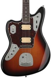 Fender Kurt Cobain Jaguar Left-handed - 3-tone Sunburst with Rosewood Fingerboard