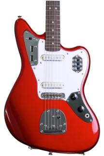 Squier Vintage Modified Jaguar - Candy Apple Red