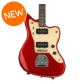 Squier Deluxe Jazzmaster with Tremolo - Candy Apple RedDeluxe Jazzmaster with Tremolo - Candy Apple Red