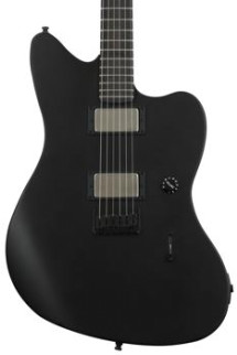 Fender Jim Root Jazzmaster - Flat Black with Ebony Fingerboard