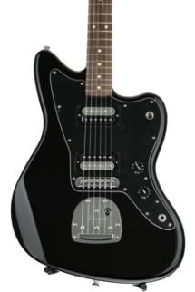 Fender Standard Jazzmaster HH - Black with Rosewood Fingerboard