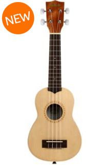 Kala KA-15S-S Soprano Ukulele - Natural Satin