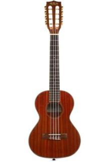 Kala KA-8 Gloss Mahogany Series 8-String Tenor Ukulele
