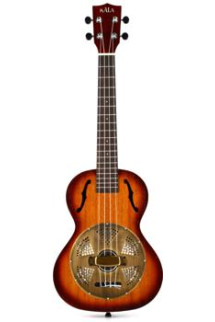 Kala KA-RES-BRS Resonator Ukulele Series - Brass