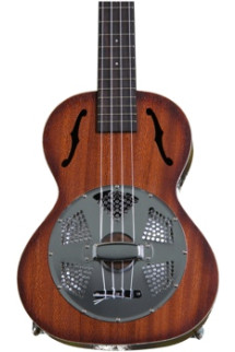 Kala KA-RES-CHR Resonator Ukulele Series - Chrome
