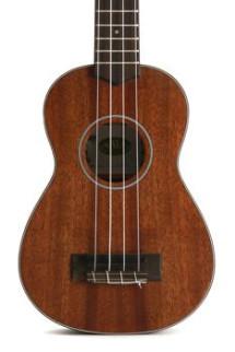 Kala KA-SMHS Solid Mahogany Series Soprano Ukulele