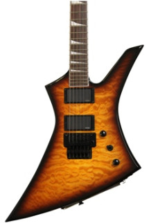 Jackson KEXMG X Series Kelly - Tobacco Burst