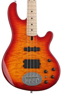 Lakland Skyline 44-02 Deluxe - Cherry Sunburst, Maple
