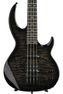 ESP LTD BB-1004 Quilted Maple - See Thru Black Sunburst