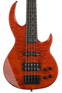 ESP LTD BB-1005 Quilted Maple - Burnt Orange