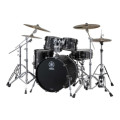 Yamaha Live Custom 4-piece Shell Pack - Black OakLive Custom 4-piece Shell Pack - Black Oak