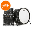 Ludwig Legacy Classic Mahogany Pro Beat Shell Pack - Vintage Black Oyster