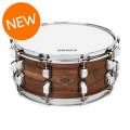Liberty Drums Richmond Series Birch/Walnut Snare Drum - 14x6.5, Walnut Finish