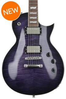 ESP LTD Eclipse EC-256FM - See Thru Purple Burst