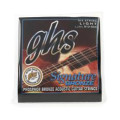 GHS LJ30L Laurence Juber Signature Bronze Light Acoustic Guitar Strings