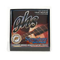 GHS LJ40TM Laurence Juber Signature Bronze Medium Acoustic Guitar Strings