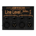 Ebtech LLS-2-XLR 2-channel Line Level Shifter with XLRLLS-2-XLR 2-channel Line Level Shifter with XLR