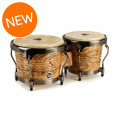 Latin Percussion Aspire Series Bongos - Havana Cafe with Brushed Nickel HardwareAspire Series Bongos - Havana Cafe with Brushed Nickel Hardware