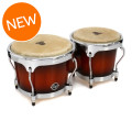 Latin Percussion Aspire Wood Bongos - Vintage Sunburst with Chrome HardwareAspire Wood Bongos - Vintage Sunburst with Chrome Hardware