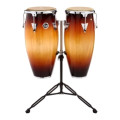 Latin Percussion Aspire Conga Set with Stand 10