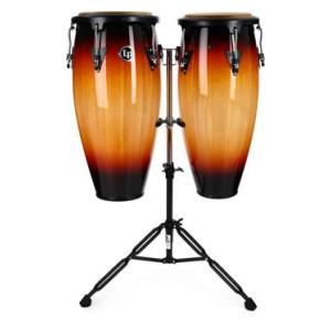 Latin Percussion Aspire Wood Conga Set Natural