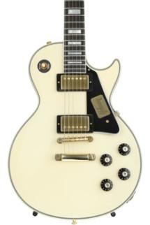 Gibson Custom 1974 Les Paul Custom Reissue VOS - Classic Vintage White