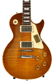 Gibson Custom True Historic 1959 Les Paul - Vintage Lemon Burst, Aged