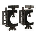 On-Stage Stands LTA4770 Lighting Clamp w/ Cable Management (pair)