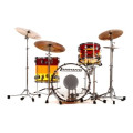 Ludwig Vistalite 3 Piece Shell Pack - Tequila SunriseVistalite 3 Piece Shell Pack - Tequila Sunrise