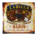 La Bella 17 Classical Nylon & Silver-plated Banjo Strings17 Classical Nylon & Silver-plated Banjo Strings
