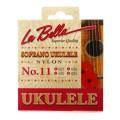 La Bella No. 11 Nylon Ukulele Strings - Soprano ClearNo. 11 Nylon Ukulele Strings - Soprano Clear