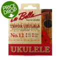 La Bella No. 12 Nylon Ukulele Strings - Tenor ClearNo. 12 Nylon Ukulele Strings - Tenor Clear