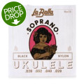 La Bella No. 15 Nylon Ukulele Strings - Soprano BlackNo. 15 Nylon Ukulele Strings - Soprano Black