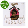 La Bella No. 25 Nylon Ukulele Strings - Baritone ClearNo. 25 Nylon Ukulele Strings - Baritone Clear