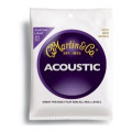 Martin M-175 Traditional 80/20 Bronze Custom Light Acoustic StringsM-175 Traditional 80/20 Bronze Custom Light Acoustic Strings