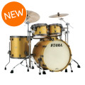 Tama Starclassic Maple Shell Pack - 4-piece - Satin Aztec Gold with Smoked Black Nickel Hardware