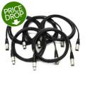 Mogami CorePlus Microphone Cable 5-pack - 10' XLR-XLR